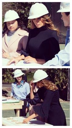 First Lady Melania Trump oversees plans for the new Tennis Pavillion @ the White House, Melania Knauss Trump, Malania Trump, Greatest Presidents, Trump Tower, First Lady Melania Trump, Victorian Women, Beautiful One, Upper Body, Girl Crushes