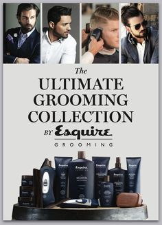 """'The Esquire Ultimate Grooming Collection' includes a wide range of styling products and styling tools, all essential to men's grooming needs - each taking grooming  to the next level. The collection is an extension of the magazine's philosophy """"a man at his best"""" and captures a lifestyle focused on luxury, sophistication and style."""