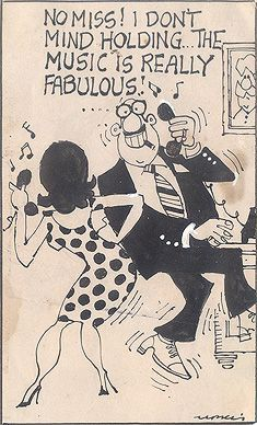 Mario Miranda - Untitled  A #humorous original cartoon sketch from the #collection of the late cartoonist. #StoryLTD