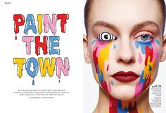 Stylist x Hattie Stewart — magCulture Berry Lips, Magazine Editorial, Editorial Layout, Art Director, Art Inspo, Illustrators, Halloween Face Makeup, Stylists, Image