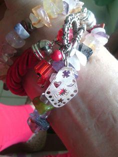 Tu jardín de cristales  Bracelets of cristal quartz #gardenofcristals #amethyst #tourmaline #cornelian # ópalo #turquoise