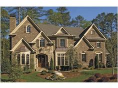 Eplans Traditional House Plan - Exceptional Master Retreat with Fireplace - 4693 Square Feet and 5 Bedrooms(s) from Eplans - House Plan Code HWEPL68379