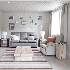 Living room Waterside cottage, Finn Lough.