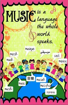 Music is a Language the whole world speaks  Miscellaneousme.wordpress.com