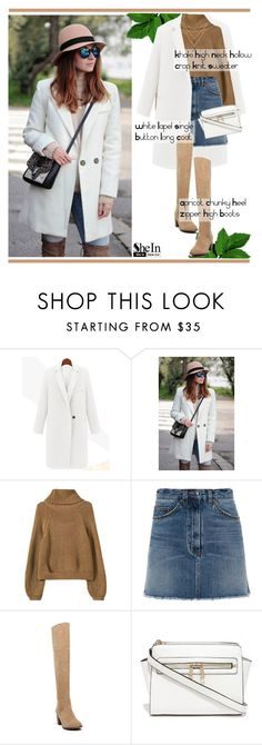 """""""Stylish!"""" by sabinakopic ❤ liked on Polyvore featuring Marc by Marc Jacobs, Charlotte Russe and shein"""