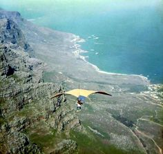 Hang-gliding starting out    c1971. by Etiennedup, via Flickr