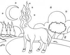 desenhos do folclore brasileiro da mula sem cabeça