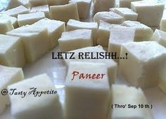 """Tasty Appetite: """" Letz Relissh - Paneer """" Event Round Up I Paneer Recipes, Cottage Cheese, Tasty, Favorite Recipes, Sweets, Fruit, Cooking, Food, Up"""