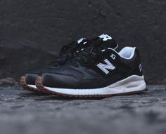 New Balance 530 black/white/gum