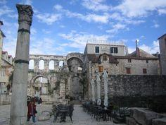 Diocletian's Palace in Split Croatia
