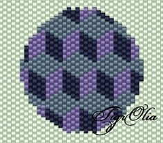 Earring patterns to use w instructions from master class here… Peyote Stitch Patterns, Beading Patterns, Peyote Beading, Beadwork, Beaded Banners, Japanese Patterns, Tapestry Crochet, Brick Stitch, Bead Weaving