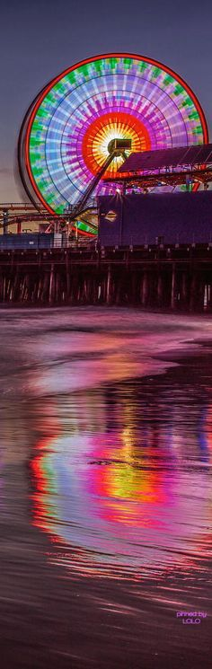 Santa Monica Pier - California  (LOLO)