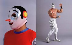 Mexican Wrestlers from the book Lucha Loco, by Malcom Venville