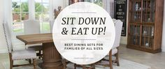 Mor Furniture Blog - Best Dining Sets Out There for both Large and Small Families   Mor Furniture for Less