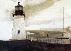 Lighthouse, Andrew Wyeth, 1917 – 2009