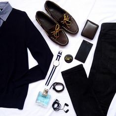 A little flat lay inspiration for the stylish dresser! that's looking for a timeless look.