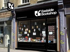 Eastside Bookshop (fictitious graphic design project by Mihail Mihaylov)