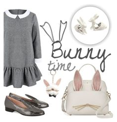 """""""bunny time"""" by janesmiley ❤ liked on Polyvore featuring Kate Spade, Minna Parikka, Cara and Decree"""