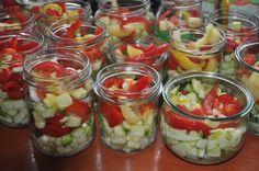 w mojej kuchni: Sałatka z cukinii  w kurkumie  --  Insalata con zu...