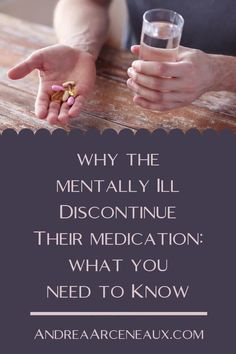 As someone who successfully navigates mental illness, there is one thing that makes my blood boil: Mentally ill people who refuse to take their medication consistently. Here is my response to five of the reasons the mentally ill quit taking their medication. #Mental Illness #MentalIllnessAwareness Psychotropic Medications, Mood Stabilizer, Angry Person, Mental Illness Awareness, Mental Health Crisis, Love You The Most, Unhealthy Diet, I Quit, I Feel Good