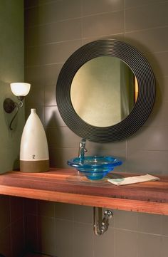 Dans le Lakehouse : Inspiration: Half Bathrooms