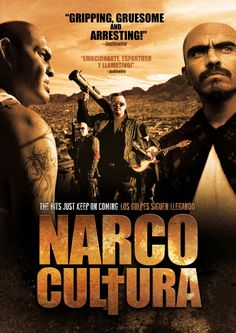 NARCO CULTURA . The documentary the world is ignoring . Yes a documentary but I was so disturbed and upset after watching it .      It follows two tales . The story of crimes scene technicians / detectives in Juarez trying to gather evidence in murders , almost always the result of Cartels killing people , even innocent bystanders , knowing almost none will be solved . This leads to the story and history of Mexico 's and the United States bands glorifying the Cartels via Narco Corridos…