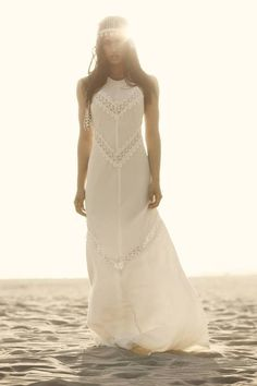 boho bride. wedding. The Ritual wedding gown by Stone Cold Fox Bride.