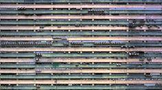 Patterns. Hong Kong as seen by Michael Wolf