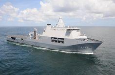 Karel Doorman vertrokken naar Middellandse Zee