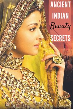 Discover why ancient Indian women were so praised for their lustrous hair and flawless complexion | Pinterest: @lavishkrish