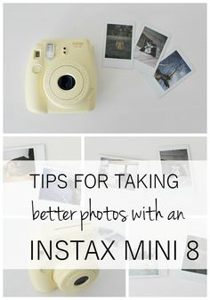Top tips for taking better photos with an Instax Mini 8 - read this before you start snapping!