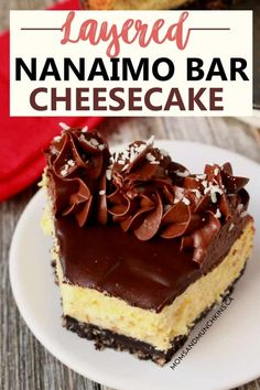 Chocolate Cheesecake Recipes, Easy Cheesecake Recipes, Easy No Bake Desserts, Cheesecake Desserts, Delicious Desserts, No Bake Cheescake Recipe, Dessert Recipes, Canadian Party, Canadian Food
