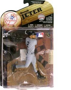 McFarlane Toys MLB Sports Picks Series 24 (2009 Wave 1) Action Figure Derek Jeter(New York Yankees)