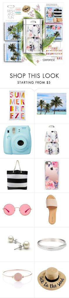 """""""🌟SUMMER🌟"""" by olivia204 ❤ liked on Polyvore featuring Nordstrom Rack, Fuji, White Label, Casetify, Ray-Ban, Hinge, Michael Kors and Accessorize"""