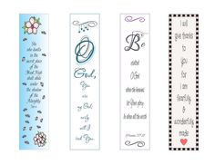 BOOKMARKS ~ Printable Christian Scripture Bookmarks - Instant Download - Christian, Reading by LoveLineSigns on Etsy