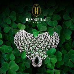 #LegacyOfDiamonds Bring out your inner shine with the brilliance of uniquely designed and immaculately crafted necklace from the house of Hazoorilal Legacy. #HazoorilalLegacy #Hazoorilal #DiamondsAreForever #DiamondNecklace #Diamonds #Necklace #StatementJewelry #HLPickOfTheWeek #BridalJewelry #highjewelry #luxury