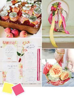 Hot Wedding Color Combos for Summer | TheKnot.com