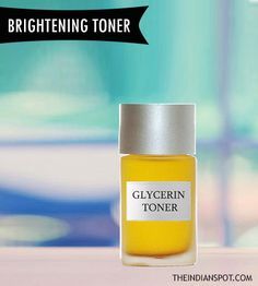 A toner basically maintains pH level, minimizes pores, absorbs excess oil, removes dirt and makes it clear. Toning is as important as taking bath for people with oily skin. There are many toners available in the market but they contain many chemicals which can cause breakout to many. So, it's a good idea to start using a homemade toner. Yes, you can make one easily at home using simple ingredients. Rose water and Glycerin brightening toner: Things required: Glycerin, rose water and spray…