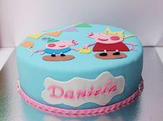Tarta peppa pig, cake, party.