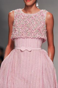 """mulberry-cookies: """"Georges Hobeika Haute Couture Spring 2015 (Details) """""""