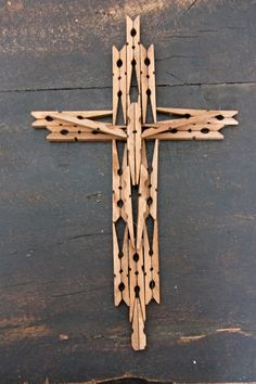 Wooden Clothespin Cross ~ Anyone that knows me knows that I enjoy sacred art and when my mom showed me how cute and simple this is to make, I knew I wanted to share it with you. Have you ever seen anything like this? [...]