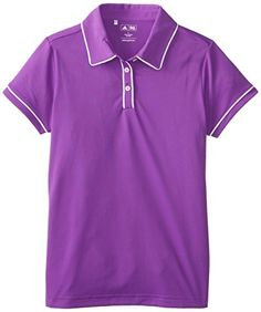 adidas Golf Girl's Pure Motion Solid Piped Polo, Vivid Purple/White, Small adidas http://www.amazon.com/dp/B00HLW7WIS/ref=cm_sw_r_pi_dp_C.Wfvb1EP666H
