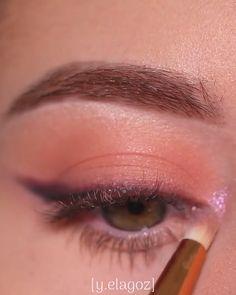 Subtle Eye Makeup, Eye Makeup Steps, Makeup Eye Looks, Eye Makeup Art, Eyebrow Makeup, Skin Makeup, Eyeshadow Makeup, Eye Makeup Pictures, Kajal