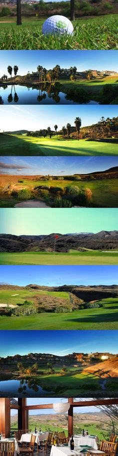 Salobre Golf Resort, Gran Canaria, Spain