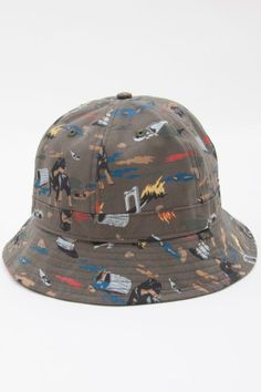 Obey City Hunting Bucket Hat Bucket Hat c4e499088bc5