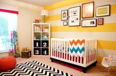 Sylvia's Bright & Sunny Budget Nursery — My Room | Apartment Therapy