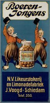 "1925-1934  Sweet cinnamon brandy-soaked raisins: ""Country Boys"""