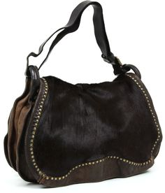 Campomaggi Hobo Leather 42 cm - C1205VLCV | Designer Brands :: wardow.com
