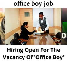 Hiring only male candidates for the job vacancy of ''Office Boy''. The work location in Mumbai. The post Hiring open for the vacancy of 'Office Boy' appeared first on Jobs and Auditions. Part Time Jobs, Mumbai, Boys, Baby Boys, Bombay Cat, Senior Boys, Sons, Guys, Baby Boy