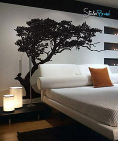 Vinyl Wall Decal Sticker TREE Shade #312 | Stickerbrand wall art decals, wall graphics and wall murals.